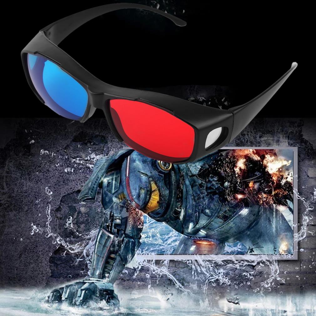 3D Gl ser Rot Blau Cyan 3D Brille Anaglyph 3D Plastikgl